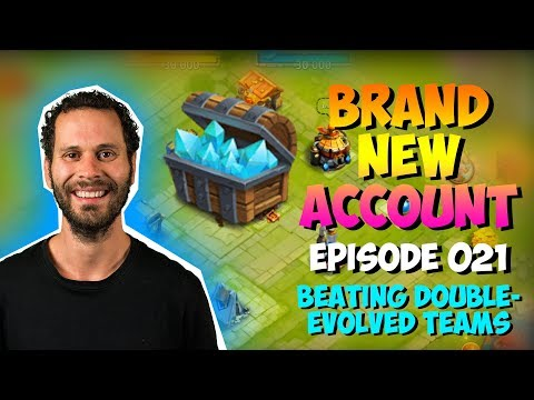 NEW ACCOUNT Episode 21: OWNING Double Evolved Teams