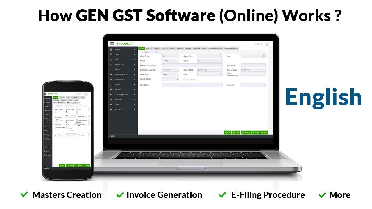 Gen GST Software Development and SEO Case Study