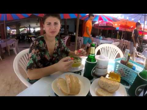 Начало отпуска в Таиланде.  Phuket. Patong beach. Том ям.  Banzaan. Часть 1.