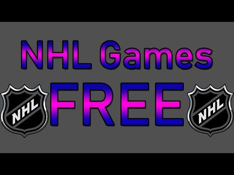 How To Watch All NHL Games In HD For FREE!