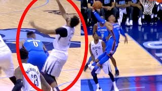 Westbrook Exposes Flopper with ANGRY SLAM   Thunder vs Grizzlies   Carmelo Clutch Three Seals Game