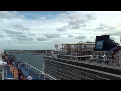 Quantum of the Seas: Inaugural Nassau, Bahamas Arrival & Departure (NCL Breakaway & Carnival Magic)