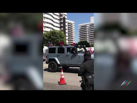 Армяне напали на азербайджанцев в Лос-Анджелесе США, есть пострадавшие
