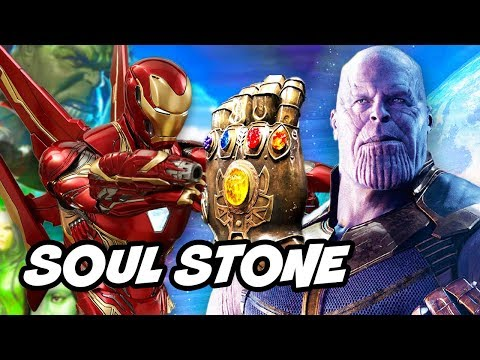Avengers Infinity War Trailer - The Soul Stone Revealed