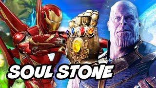 Avengers Infinity War Trailer - The Soul Stone Revealed