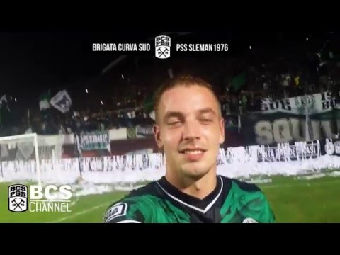 Brigata Curva Sud: I Can't Stop Falling in Love with You  Lead by Kristian Adelmund (20.12.15)