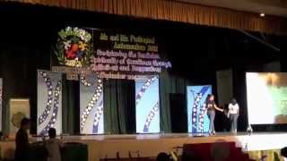 Search for Mr. & Ms. Paulimpiad Ambassadors 2012 Sept-11 (SPUD) v-clips