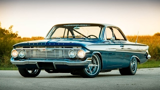 TWIN TURBO 509CI 1500+HP ABSOLUTE MONSTER!!! 61 Impala Pro Touring