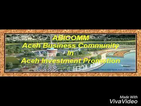 The ABICOMM  (Aceh Business Community)
