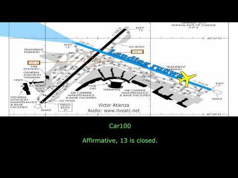 [REAL ATC] MD-80 DELTA CRASH at La Guardia Airport
