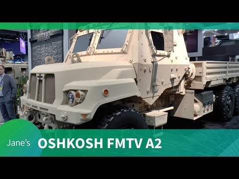 AUSA 2018: Oshkosh FMTV A2 variant and HET update