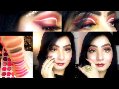 jaclyn hill palette volume 2  swatches cut crease