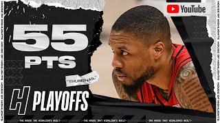 Damian Lillard CRAZY 55 Pts 12 Threes Full Game 5 Highlights vs Nuggets | 2021 NBA Playoffs
