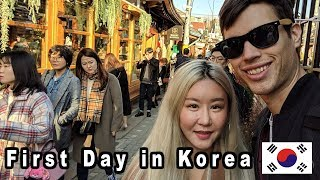 My First Day in SOUTH KOREA! — Seoul Travel Vlog (서울 여행)