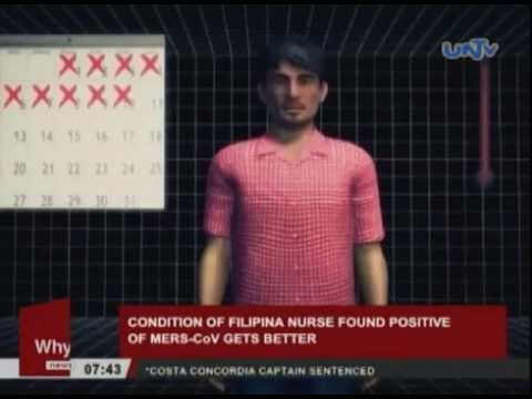 Condition of Filipina nurse found positive of MERS-CoV gets better