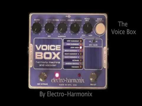 Electro-Harmonix - In Harmony- - Voice Box Video by Nataly and Jack - Vocal Harmony Machine- Vocoder