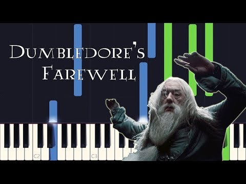 Synthesia - Dumbledore's Farewell (Harry Potter 6) [PIANO TUTORIAL + SHEET MUSIC] mp3