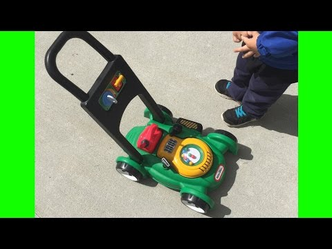Toy Lawn Mower Little Tikes Backyard Play With Gas 'n Go Mower