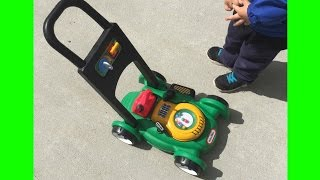 Toy Lawn Mower Little Tikes Backyard Play with Gas 'n Go Mower thumbnail