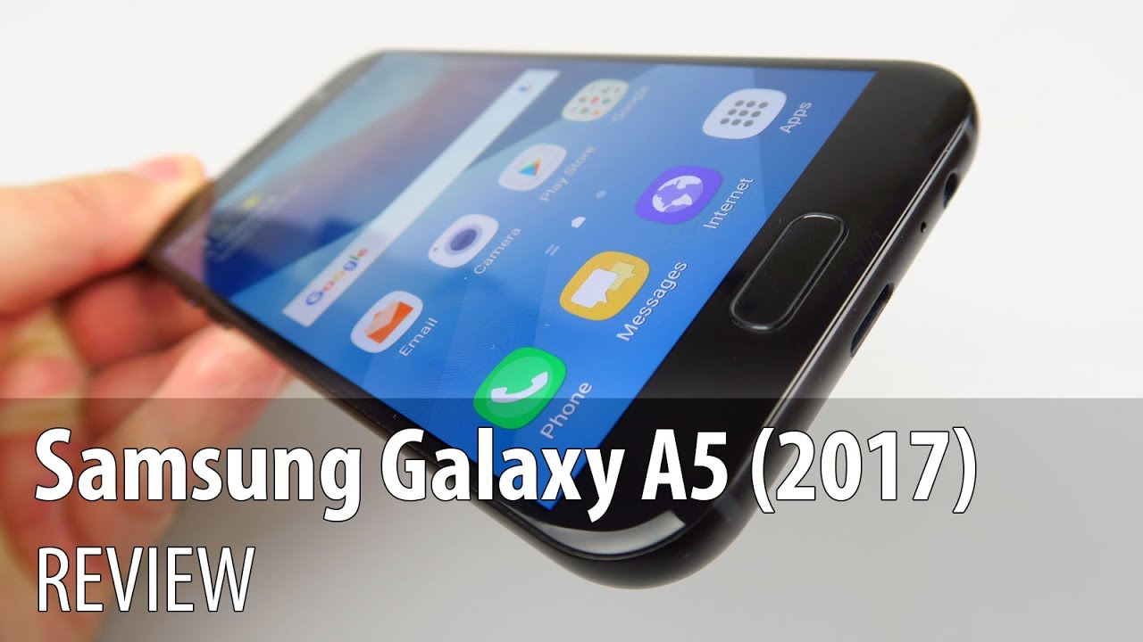 best service 19193 7328c Samsung Galaxy A5 (2017) Review (Midrange Waterproof Phone Inspired by  Galaxy S7)