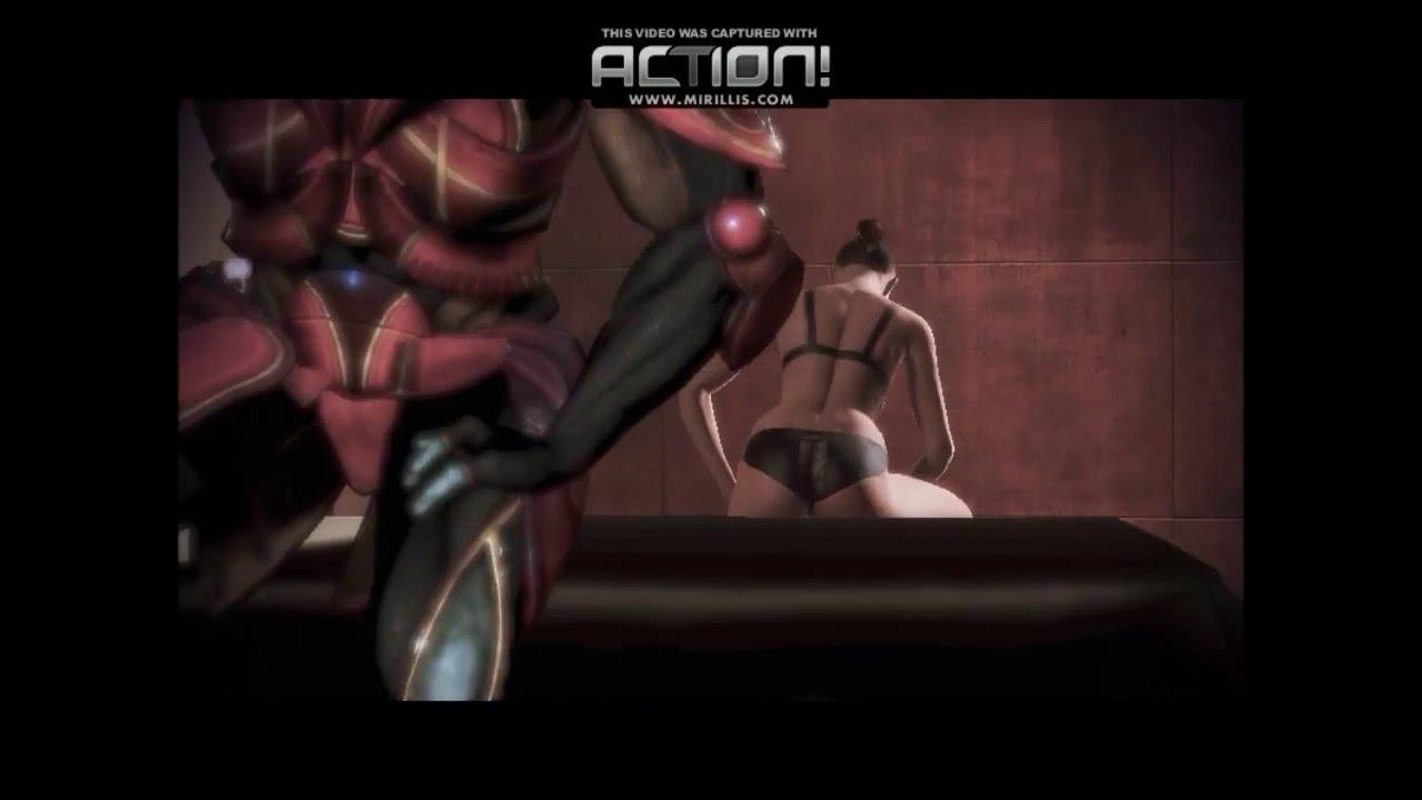 Видео секса шепарда мужчины в игре