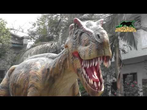 7 Meters Long Robotic T-Rex