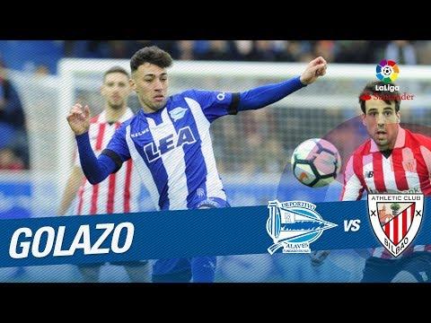 Golazo de Munir (2-0) Deportivo Alavés vs Athletic Club