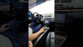 Luxury interior: 2008 E350 W211