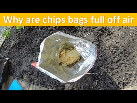 why are chips bags full of air