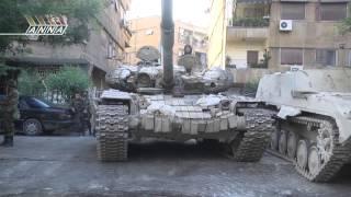 Сирия. Дамаск. Джобар 21 августа 2013 года. Начало