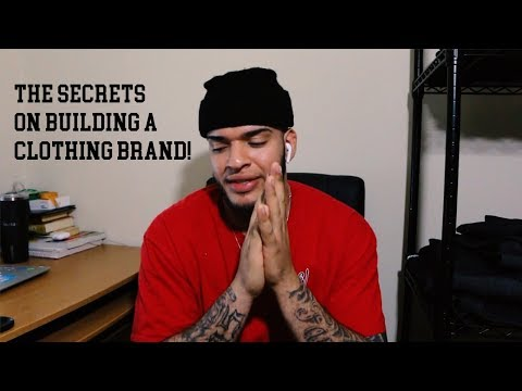 SECRETS ON HOW TO GROW YOUR CLOTHING BRAND