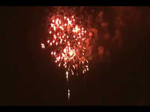 4th of July Fireworks Downtown Panama City Florida 2011
