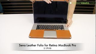 Sena Leather Folio for Retina MacBook Pro - Review