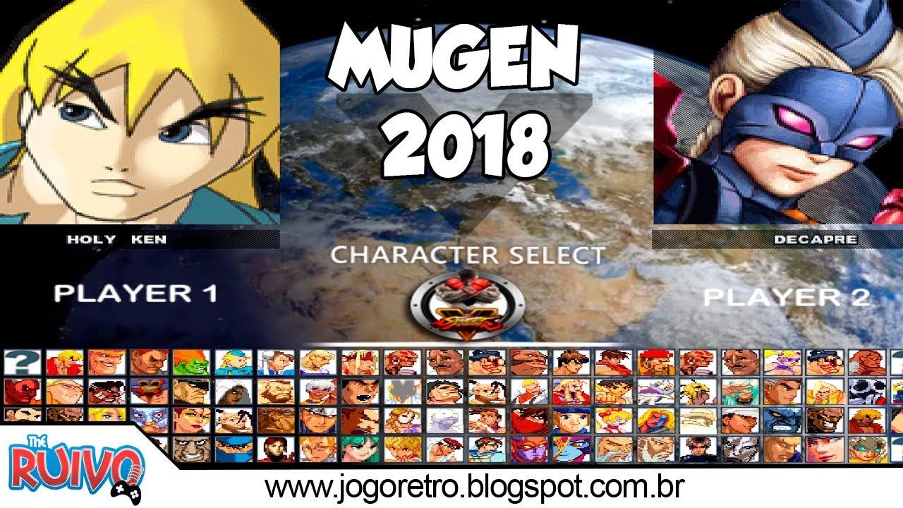 Street Fighter 5 MUGEN 2018