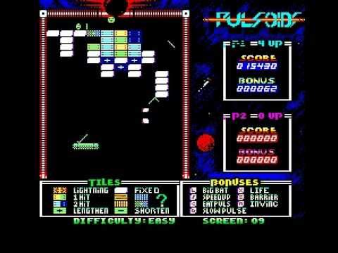 Pulsoids, a break-out clone on Oric Atmos