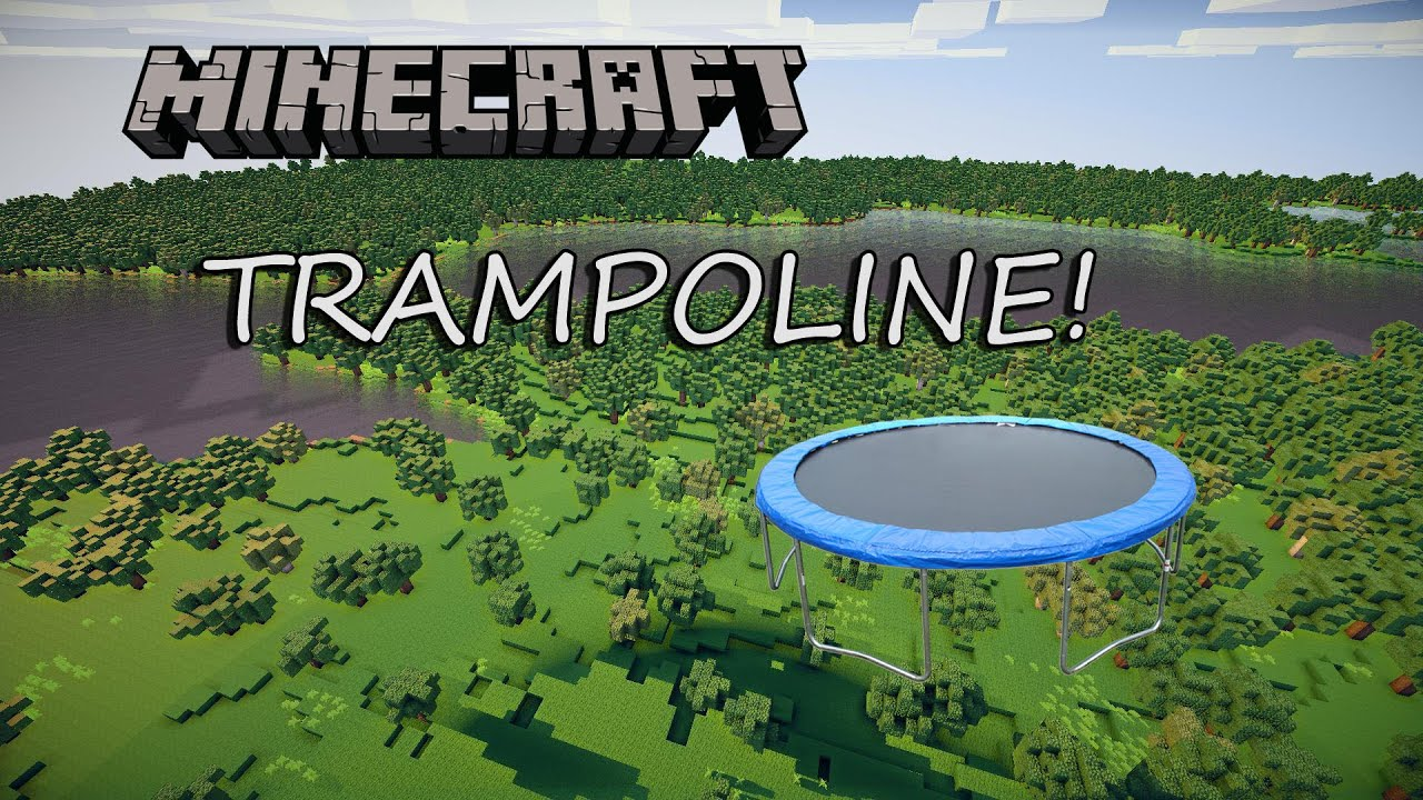 trampoline minecraft ps3 ps4 xbox 360 xbox one wii u youtube. Black Bedroom Furniture Sets. Home Design Ideas