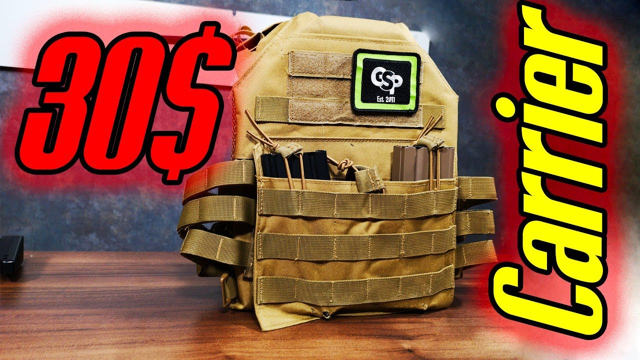 Wish Test 30$ Plate Carrier WORTH to buy for airsoft?