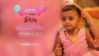 Samantha Birthday | Oct 22 -  2019 | Chennai