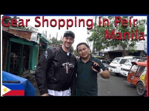 Gear Shopping at Pier Manila