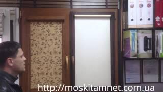 видео жалюзи и рулонные шторы в Харькове