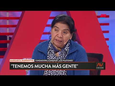 """Margarita Barrientos: """"Hay mucha más gente asistiendo a los comedores"""""""