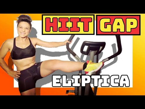 0262_eliptica 25 HIIT tren inferior: gluteo, abdomen y piernas