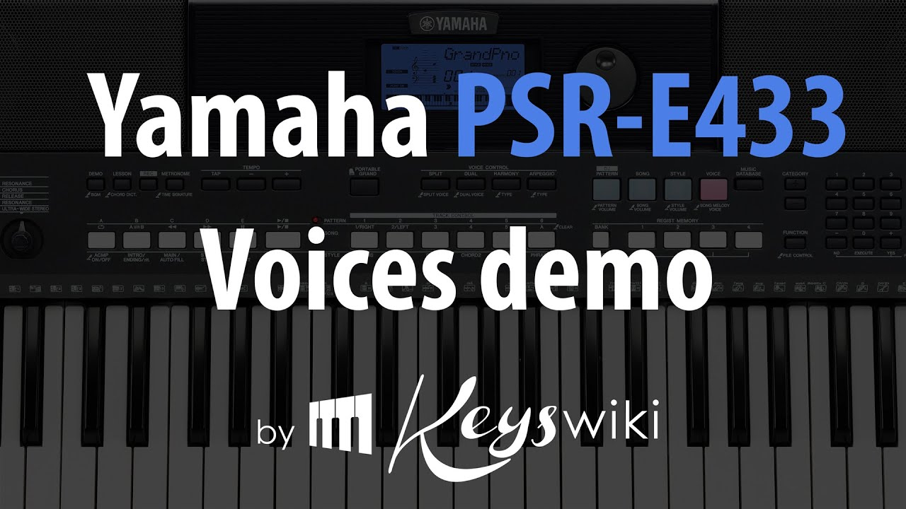Image Result For Yamaha Keyboard Quick Start Guide