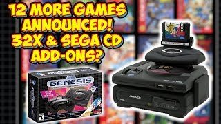 Final 12 Games For Sega Genesis Mini and A Sega CD And 32X Add On