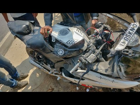 Met with a deadly Accident !! RIP DEVIL !! R15 V3