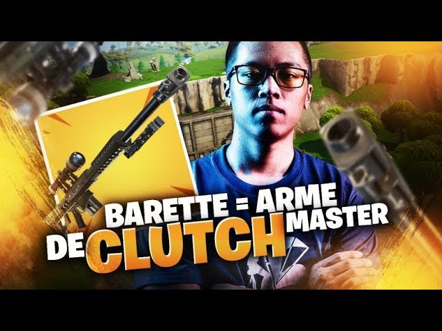 BARRETTE = ARME DE CLUTCH MASTER ?