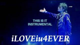 MICHAEL JACKSON THIS IS IT INSTRUMENTAL