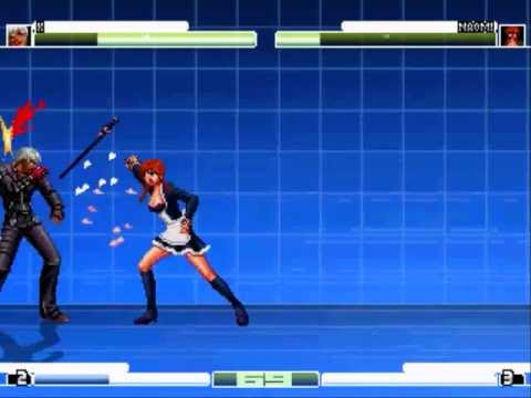 DF Mugen: Sword wielding maido needs better mixups