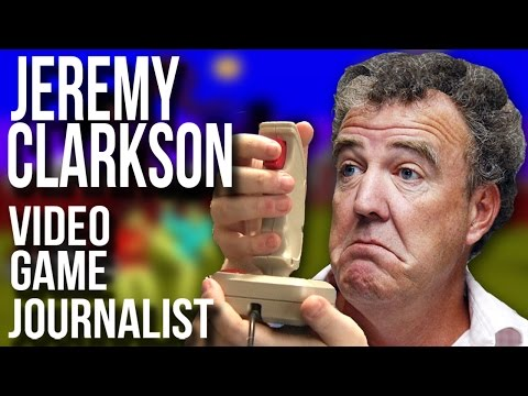 🚗 Jeremy Clarkson: The Video Game Journalist Years - GYCW | Larry Bundy Jr