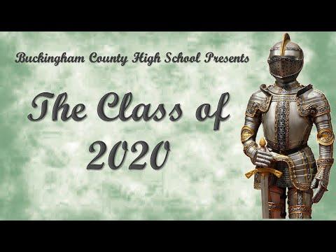 Buckingham County High School Class of 2020 Tribute